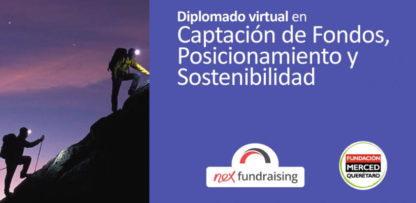 Diplomado virtual en: Captación de fondos, Posicionamiento y Sostenibilidad