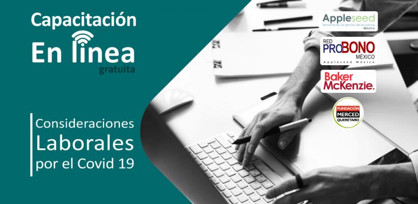 Capacitación en línea: Consideraciones laborales por el COVID 19