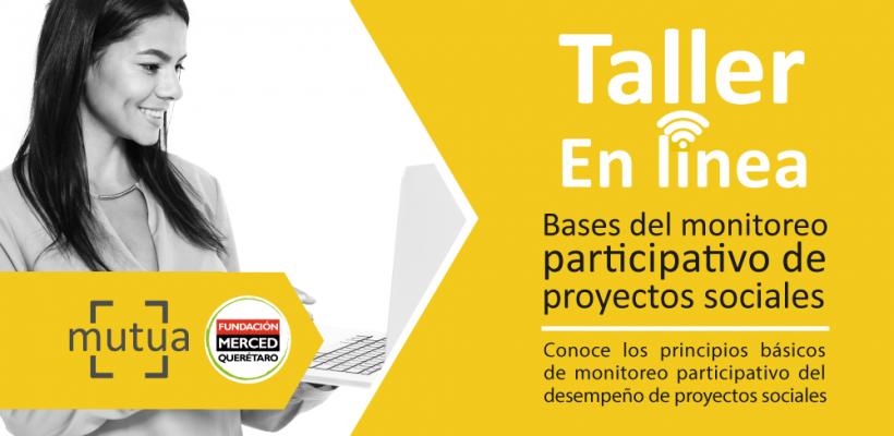 Taller en línea: Bases del monitoreo participativo de proyectos sociales