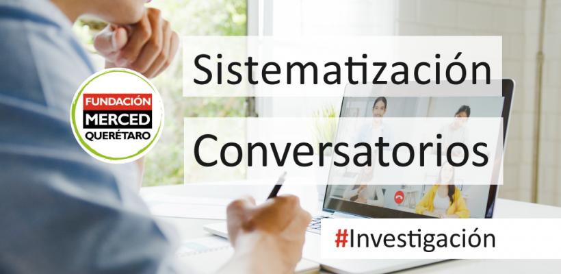 Panorama de las Organizaciones de la Sociedad Civil en Querétaro: sistematización de los conversatorios.