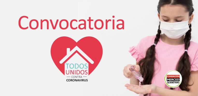 Convocatoria: Todos unidos contra Coronavirus