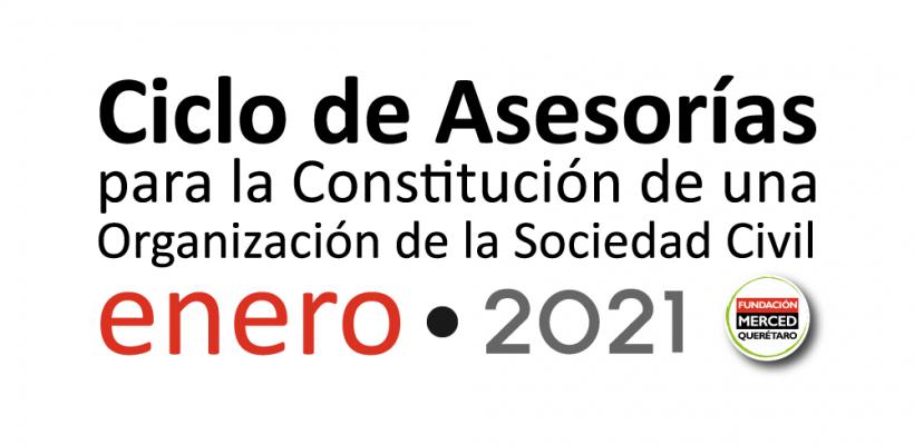 1° Ciclo de asesorías para la constitución de una OSC 2021