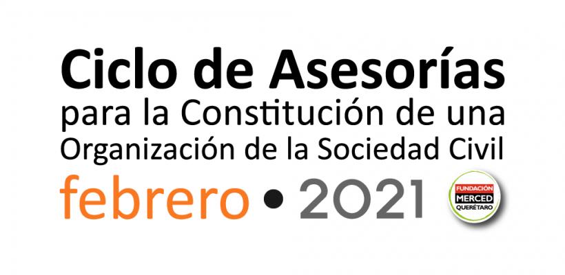 2° Ciclo de asesorías para la constitución de una OSC 2021