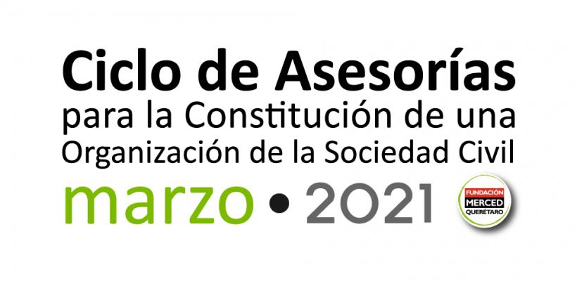 3° Ciclo de asesorías para la constitución de una OSC 2021