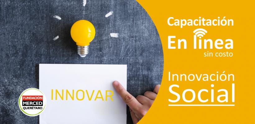 Capacitación en línea: Innovación Social