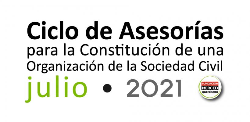 7° Ciclo de asesorías para la constitución de una OSC 2021