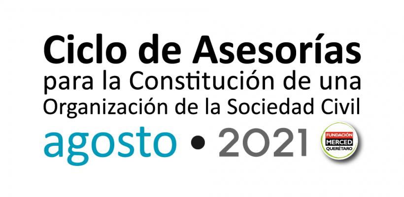 8° Ciclo de asesorías para la constitución de una OSC 2021