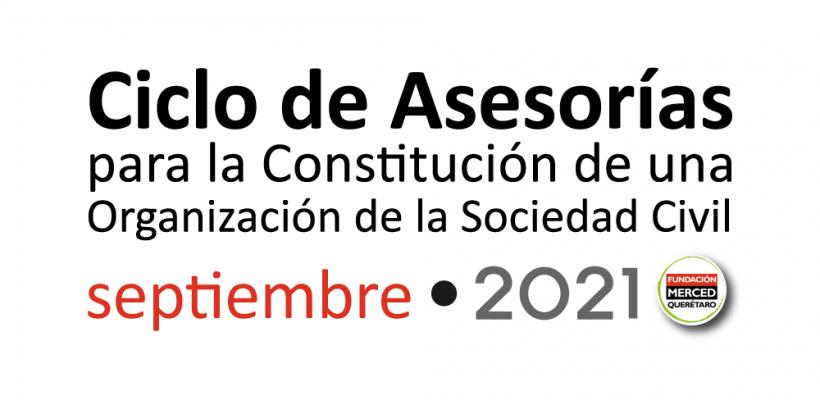 9° Ciclo de asesorías para la constitución de una OSC 2021