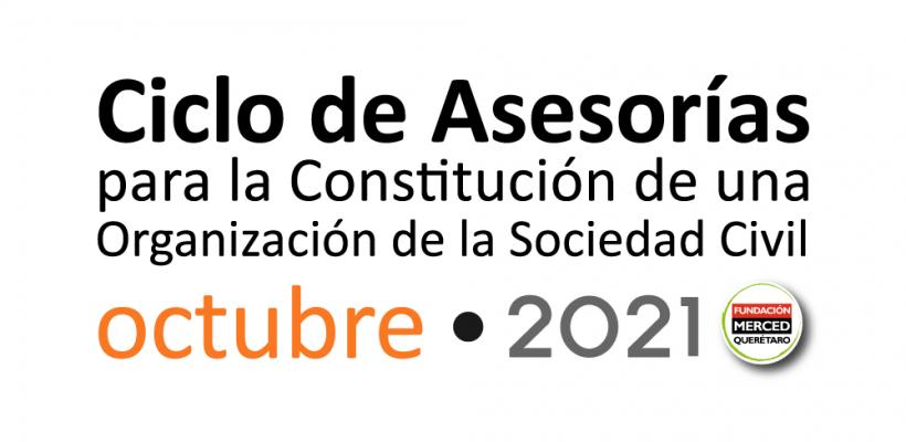 10° Ciclo de asesorías para la constitución de una OSC 2021