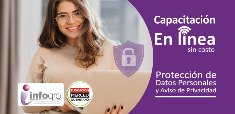 Capacitación en línea: Protección de Datos Personales y Aviso de Privacidad